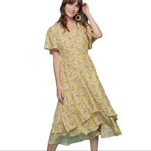 Roller Rabbit Prana Filena Floral Wrap Dress